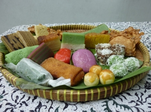 Indonesian and nonya kueh