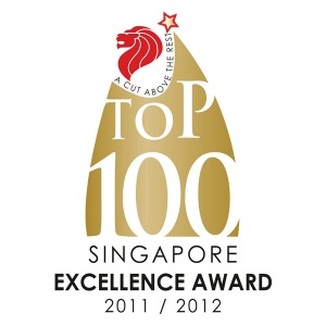 Singapore 100 2011/2012 Award